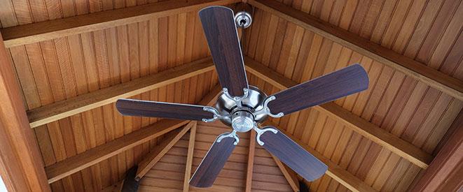 Attic ceiling fan