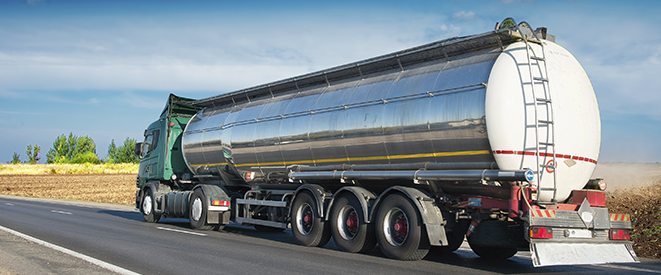 Bolkema home heating oil delivery truck